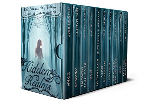 Cover image for Hidden Realms: A Paranormal Romance and Urban Fantasy Bundle