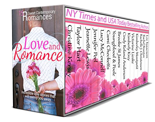 Cover image for Love and Romance: 15 Sweet Contemporary Romances: Box Set