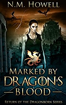 Cover image for Marked by Dragon's Blood