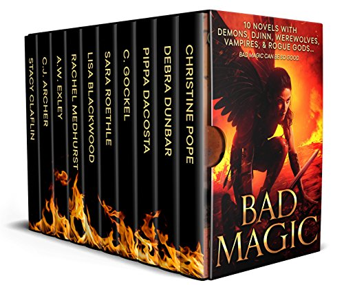 Cover image for Bad Magic: 8 Novels of Demons, Djinn, Witches, Warlocks, Vampires, and Gods Gone Rogue