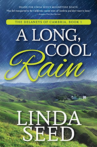 Cover image for A Long, Cool Rain (The Delaneys of Cambria Book 1)