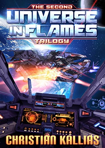 Cover image for The Second Universe in Flames Trilogy