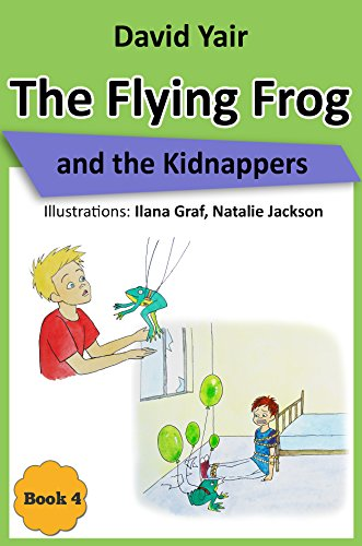 Cover image for The Flying Frog and the Kidnappers