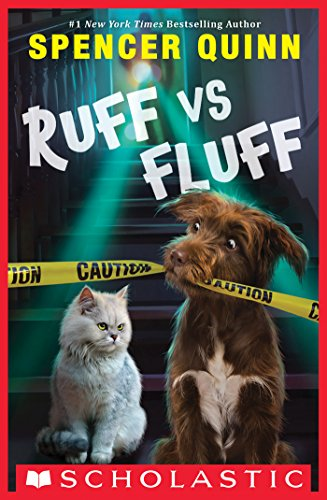 Cover image for Ruff vs. Fluff (A Queenie and Arthur Novel)