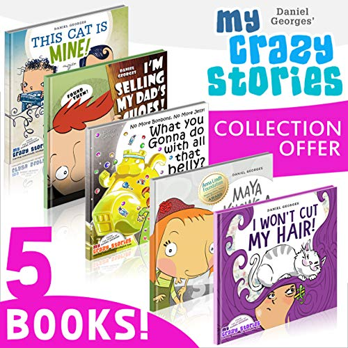 Cover image for MY CRAZY STORIES Collection 5in1