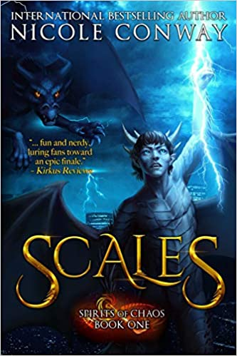 Cover image for Scales (Spirits of Chaos)