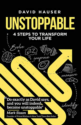 Cover image for Unstoppable: 4 Steps to Transform Your Life