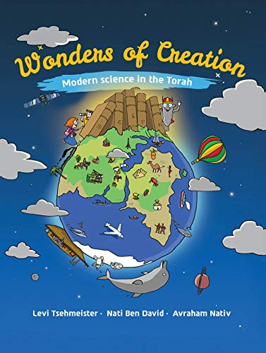 Cover image for Wonders of Creation: Modern science in the Torah
