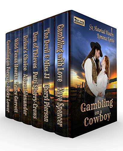 Cover image for Gambling on a Cowboy: Six Full-Length Historical Western Romance Novels